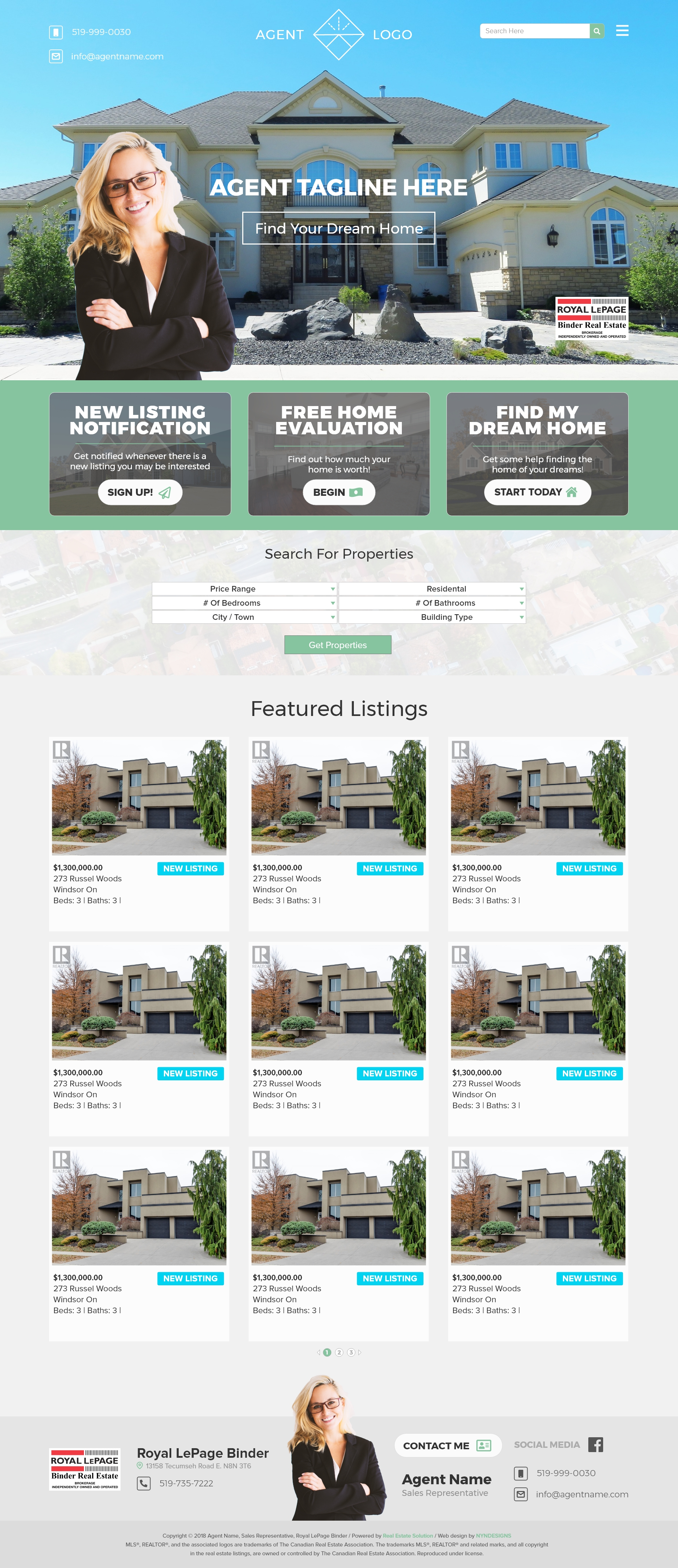 Personalized Professional Websites for REALTORS® | Websites