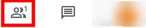 Google Meet - People Button