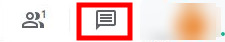 Google Meet - Chat Button