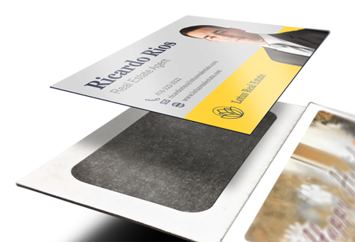 Add Yuor Business Card to Your Calendar Magnet