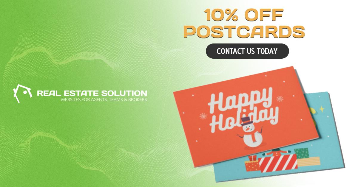 10% Off Postcard Printing