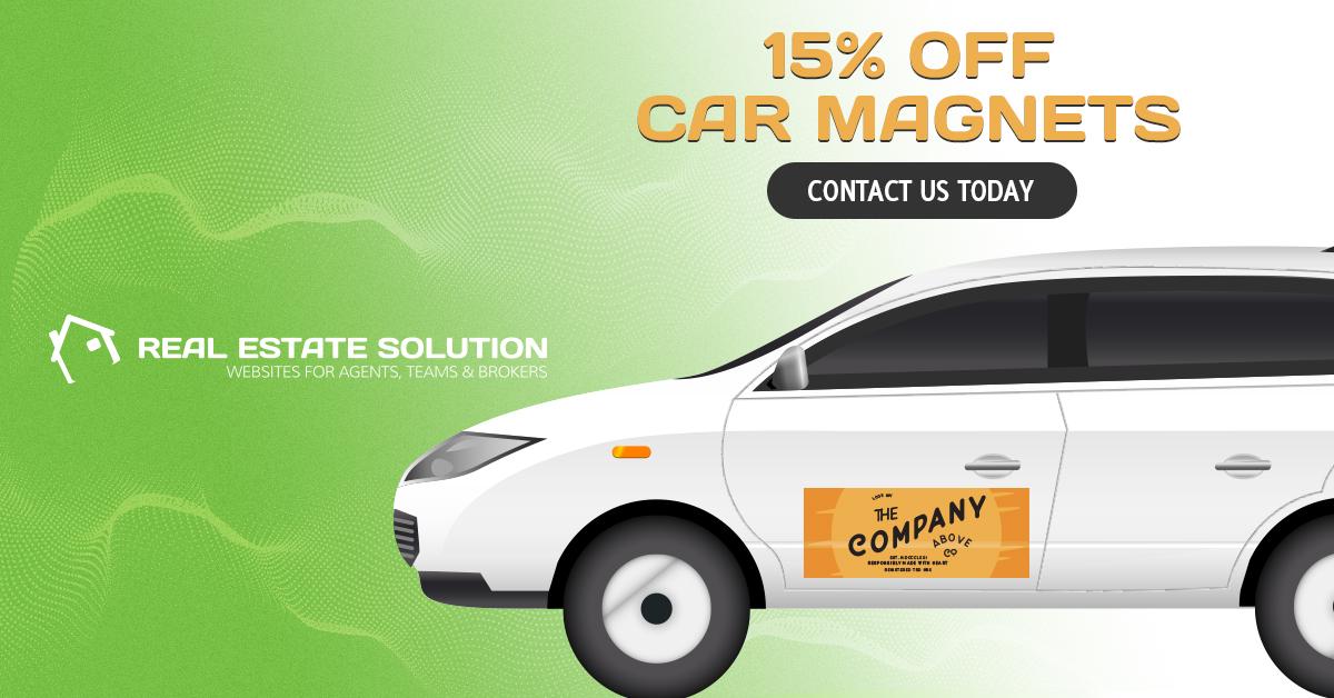 15% Off Car Magnet Printing