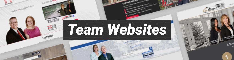 Real Estate Team Websites