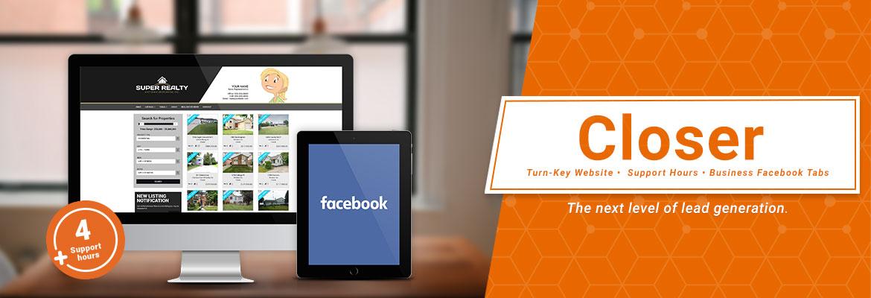 Turn-Key Website, Business Facebook Tabs, High Speed Dedicated Hosting