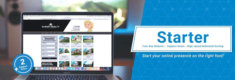 Turn-Key Website, Support Hours, High Speed Dedicated Hosting