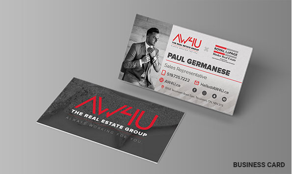 AW4U Business Card Designs