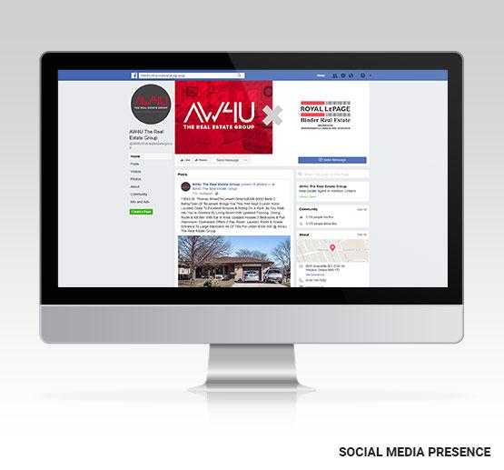 AW4U Social Media Presence