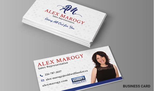 Alex Marogy Business Cards