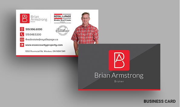 Armstrong, Bentley & Associates Business Card Designs