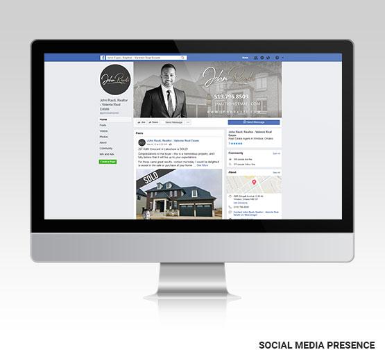 John Rauti Social Media Presence