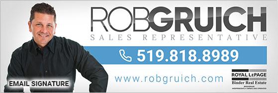 Rob Gruich Email Signature