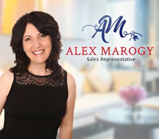 Alex Marogy, Sales Representative