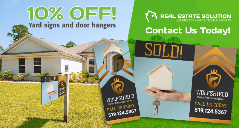 10% Off 4mm Yard Signs and Door Hangers for a Limited Time!